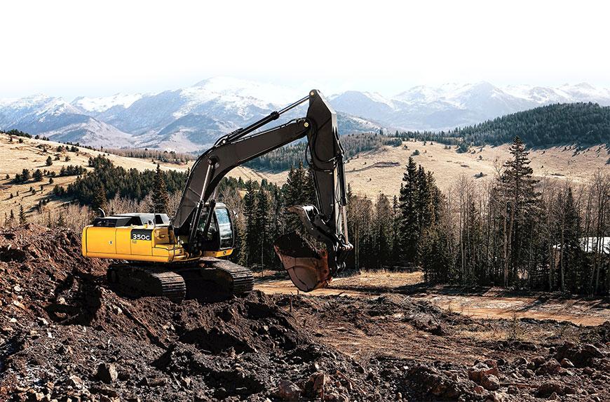 rental alat berat excavator